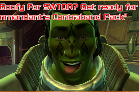 Are you Goofy For SWTOR? Get ready for the...