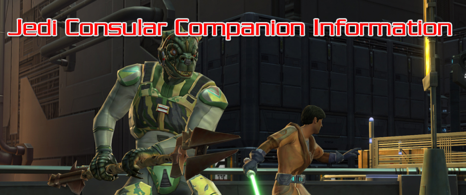 Jedi Consular Companion Information