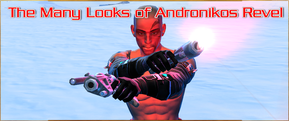 The Many Looks of Andronikos Revel