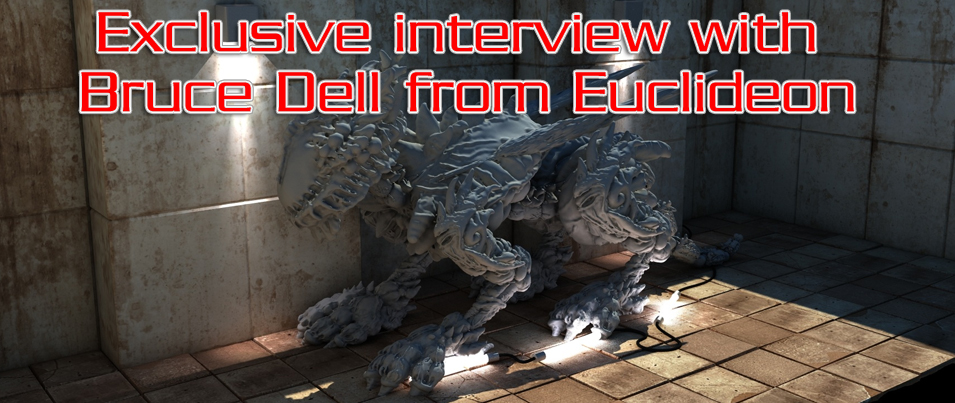 Exclusive interview with Bruce Dell from Euclideon