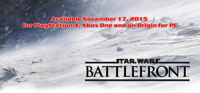 Pre-order Star Wars Battlefront and get The Planet Of JAKKU DLC Free!