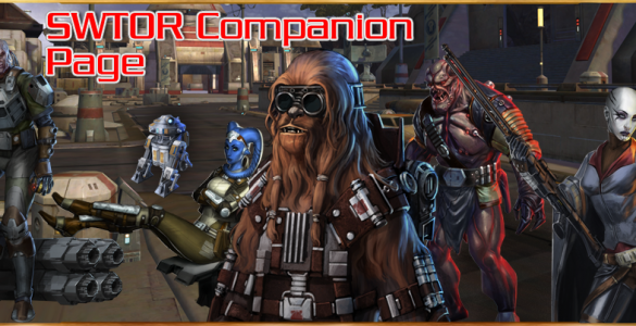 SWTOR Companion Page